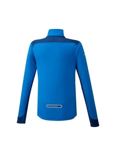 Mizuno Warmalite Hz Erkek Sweat Mavi Mavi